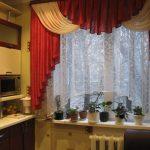 Комнатные цветы на кухонном подоконнике