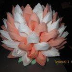 лотос из салфеток фото декора