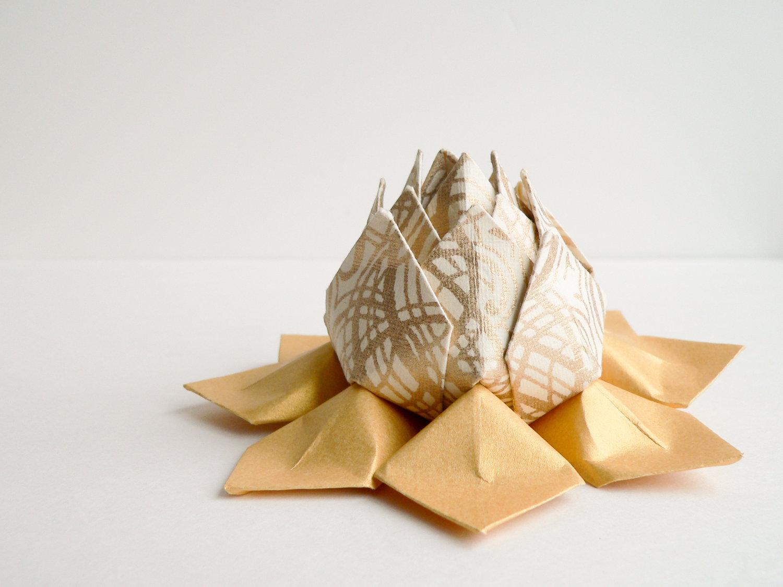 лотос из салфеток фото дизайн