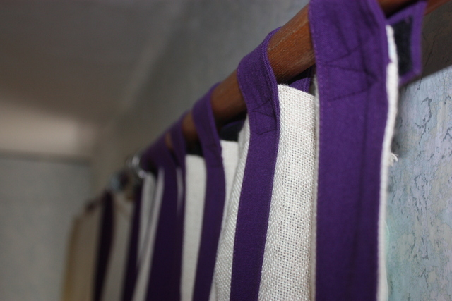 мешковина шторы фото дизайн