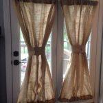 оконные шторы из мешковины