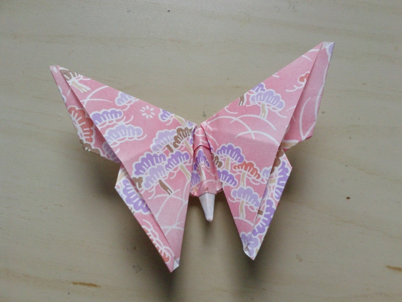 оригами бабочка фото