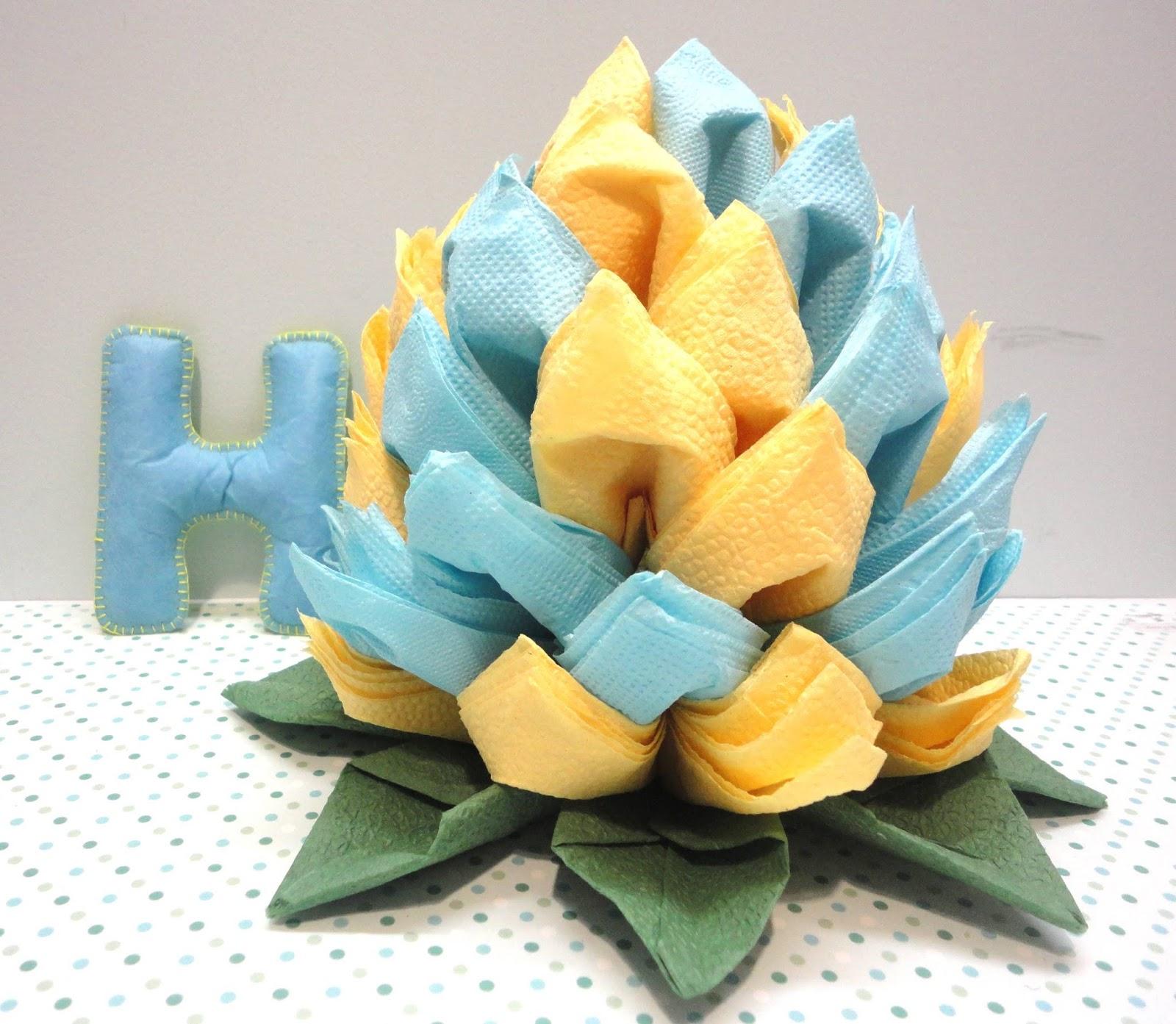 оригами лотосы