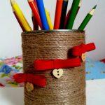 подставка для карандашей необычная