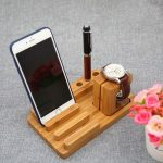 подставка для телефона из дерева