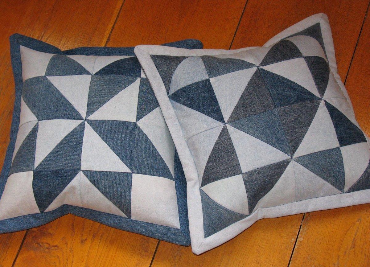 подушки пэчворк фото