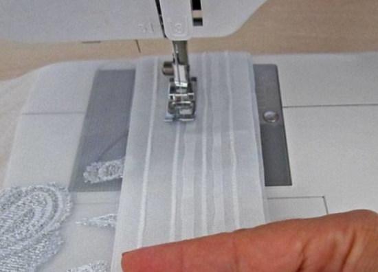 Пошив и ремонт тюля