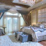 подхваты для штор в спальне