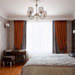 пошив штор в спальню дизайн