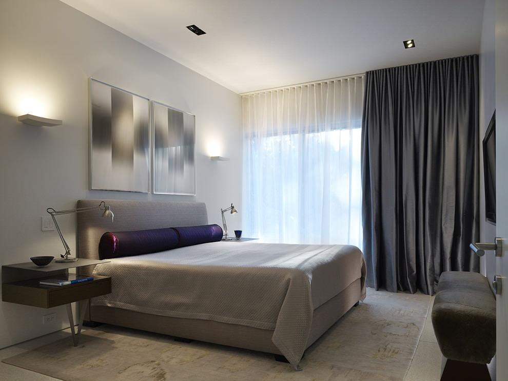 пошив штор в спальню дизайн фото