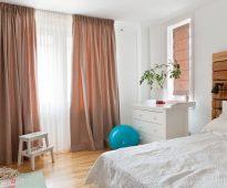 пошив штор в спальню своими руками интерьер дизайн