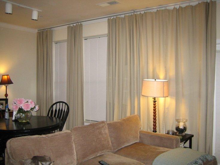 расчет ткани на шторы в квартиру фото интерьер