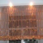 шторы из вуали римские