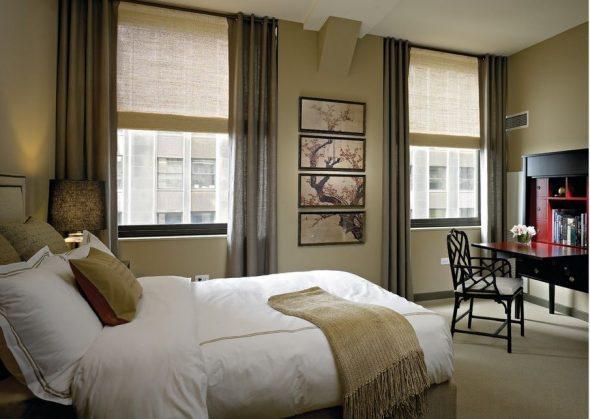 Рулонные шторы с классическими
