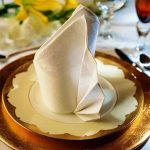 сервировка стола салфетками декор