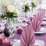 сервировка стола салфетками идеи декор