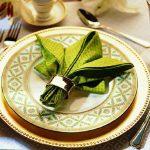 сервировка стола салфетками оригами фото дизайн