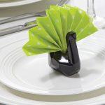 сервировка стола салфетками оригами фото оформление