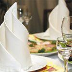 сервировка стола салфетками оригами оформление фото