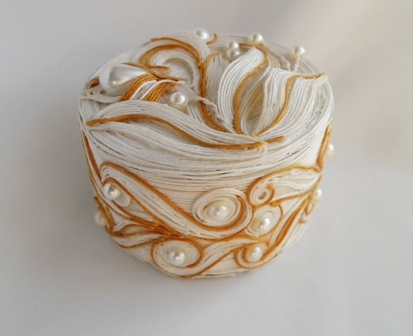 шкатулка из джута фото декор