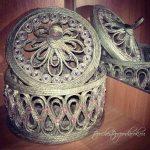 шкатулка из джута своими руками дизайн декор