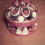 шкатулка из джута своими руками дизайн фото