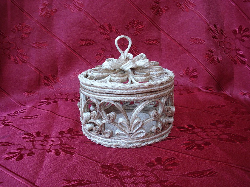 шкатулка из джута своими руками фото дизайн