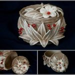 шкатулка из джута своими руками варианты фото