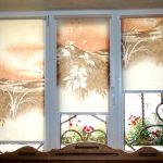 Рулонные шторы с реалистичной фотопечатью