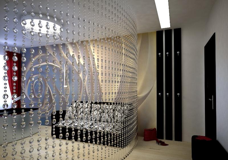 шторы из бусин декор идеи