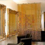 шторы из бусин виды дизайн
