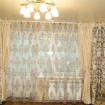 шторы из вуали фото интерьера