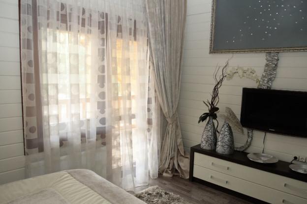 шторы из вуали интерьер дизайн