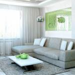 шторы к серым обоям дизайн фото