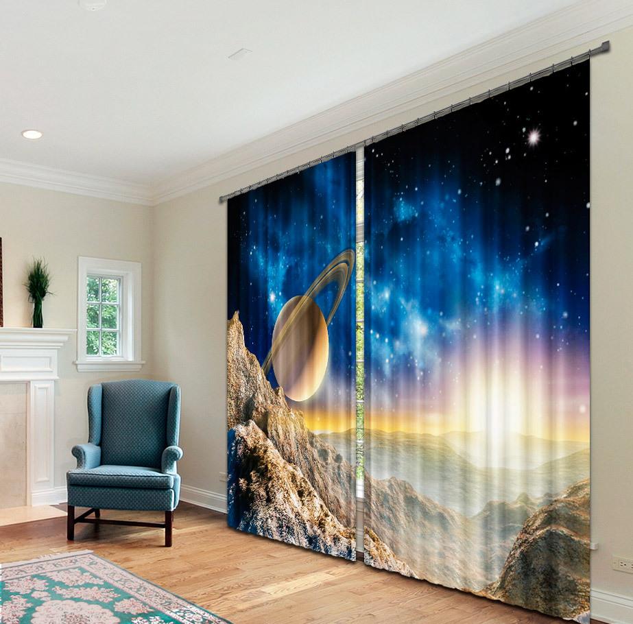 шторы космос