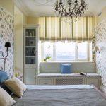 шторы в интерьере спальни фото варианты
