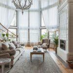 шторы в гостиной воздушные