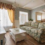 шторы в гостиной современный дизайн