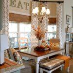 шторы для кухни с эркером идеи