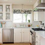 шторы для кухни в современном стиле дизайн фото