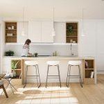 шторы для кухни в стиле минимализм фото