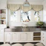 шторы для кухни в стиле прованс идеи