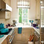 шторы для маленькой кухни варианты