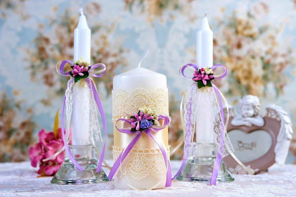 свадебные свечи дизайн