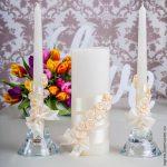 свадебные свечи идеи декора