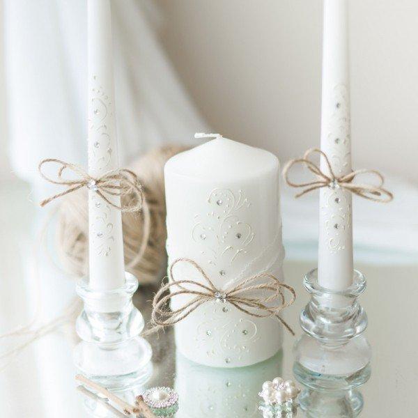 свадебные свечи оформление