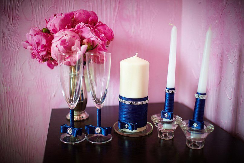 свадебные свечи варианты идеи