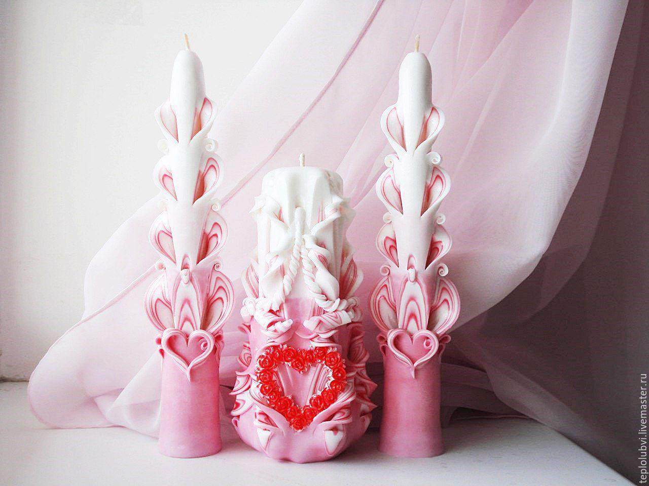 свечи на свадьбу идеи декор