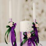 свечи на свадьбу идеи декора