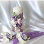 свечи на свадьбу идеи дизайн